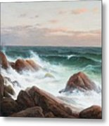Coastal Landscape. Metal Print