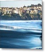 Coastal Scenes At Usa Pacific Coast Metal Print