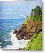 Coastal View From North Head Metal Print