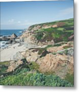 Coastal Views At Bodega Bay Metal Print