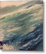 Coastal Waters Metal Print by Gregory Dallum