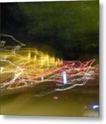 Coaster Of Lights Metal Print