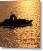 Coastguard Vessel Metal Print