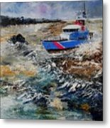 Coastguards Metal Print