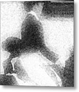 Coat And Hat Metal Print