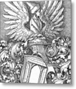 Coat Of Arms Of The House Of Dbcrer 1523 Metal Print