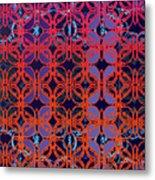 Cobalt Crimson Metal Print
