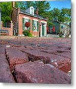 Cobble Stone Metal Print