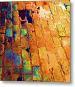 Cobble Stones In Color Metal Print