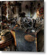 Cobbler's Shop Metal Print