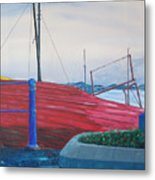Cobh Harbor Ireland Metal Print