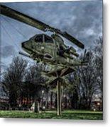 Cobra Helicopter Bristol Va Metal Print