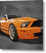 Cobra Power - Shelby Gt500 Mustang Metal Print