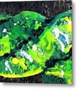 Cobra Verde Metal Print