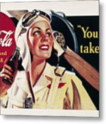 Coca-cola Ad, 1941 Metal Print by Granger