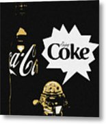 Coca-cola Forever Young 7 Metal Print