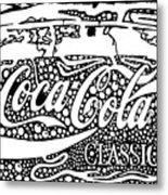 Coca-cola Maze Advertisement  Metal Print
