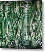 Coca Cola So Many Bottles Metal Print