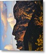 Cochise Head Metal Print