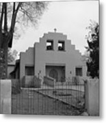 Cochiti Church Metal Print