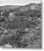 Cochiti Rocks Metal Print