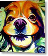 Cocker Spaniel - Cheese Metal Print by Alicia VanNoy Call