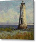 Cockspur Island Lighthouse Metal Print