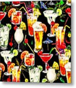 Cocktail Hour In The Tropics Metal Print
