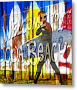 A Cocoa Beach Welcome Metal Print
