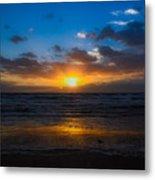 Cocoa Beach Sunrise 5 Metal Print