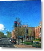 Coconino County Courthouse Metal Print