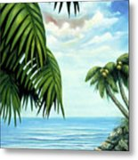Coconut Cove Metal Print