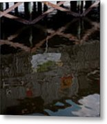 Coconuts Wharf-picasso Style Metal Print