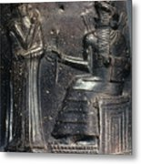 Code Of Hammurabi (detail) Metal Print by Granger