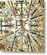Codex Fej�rv�ry-mayer, 15th Century Metal Print