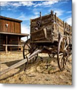Cody Wagon Train Metal Print