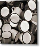 Coffe Cups 2 Metal Print