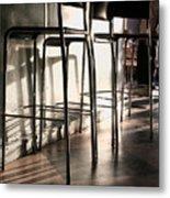 Coffee Bar - 200300 Metal Print