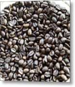Coffee Beans From Brazil  Metal Print
