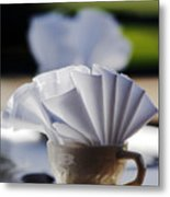 Coffee Cup Metal Print