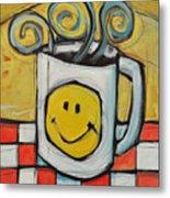 Coffee Cup One Metal Print