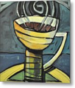 Coffee Cup Three Metal Print
