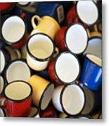 Coffee Cups Metal Print