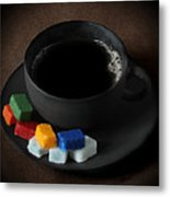 Coffee For Mister Mondrian  Metal Print