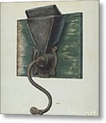 Coffee Mill Metal Print