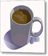 Coffee Mug Metal Print