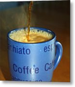 Coffee Please Metal Print