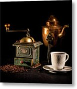 Coffee-time Metal Print