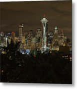 Coffee Town Metal Print
