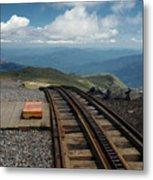 Cog Railway Stop Metal Print